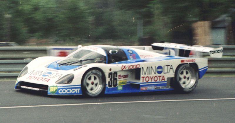 Toyota 87C group C1 (1987) - Racing Cars